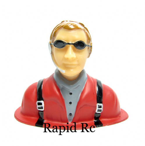 Resin Civilian Pilot Figure P-50 5508412